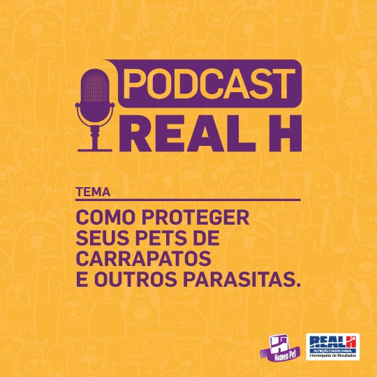 Podcast Homeo Pet Real H Parasitas